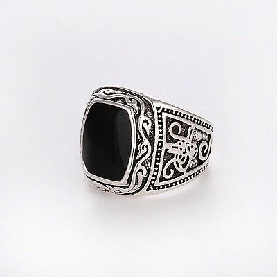 Men's/Women's Silver Color RING Fashion Jewelry Size 8 9 10 11