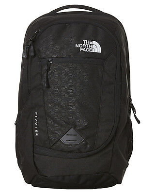 New The North Face Men's Pivoter Backpack Mesh Luggage Travel Black