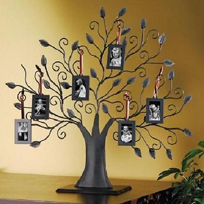 family tree picture frame photo decor wall collage frames home art hanging metal