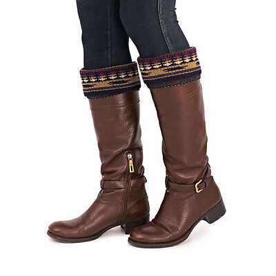 Ladies Knitted Boot Cuffs Boot Toppers