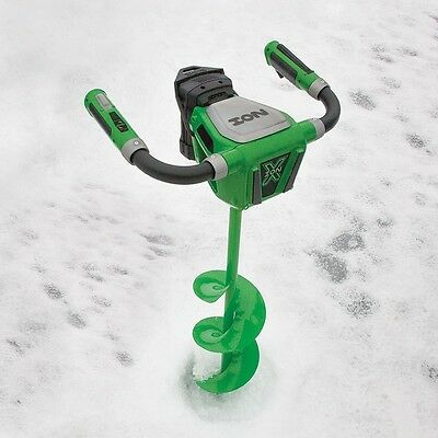 ION X 40 Volt 29250 MAX ICE AUGER CORDLESS ELECTRIC LITHIUM 8 IN WITH REVERSE