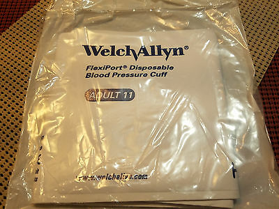 Welch Allyn FlexiPort Disposable Blood Presure Cuff Adult 11