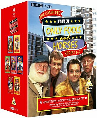 Only Fools And Horses Complete Series 1-7 Dvd Boxset 1 2 3 4 5 6 7 New Original