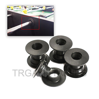 4pcs Fit 30mm Board Rod Foosball Bushing Soccer Football Table Bearing AU Stock