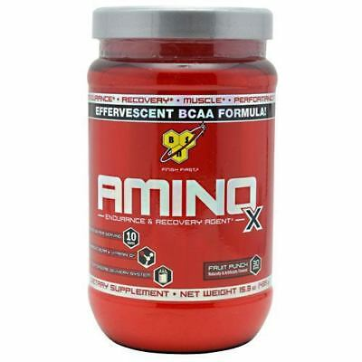 BSN AMINO X 30 or 70 Servings BCAA Amino Acids Energy Focus -Pick Flavor & Size