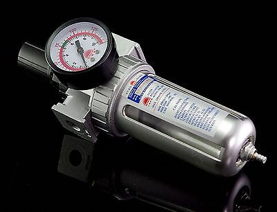 1Pcs Sfr-200 Pneumatic Air Filter Regulator Bsp 1/4""