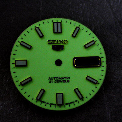 New ! Seiko5 7009/7S26 Luminous Dial With Glass Automatic  Free Shipping