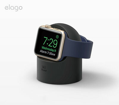 Genuine Elago W2 Wireless Charging Stand Station Dock Cradle for Apple Watch