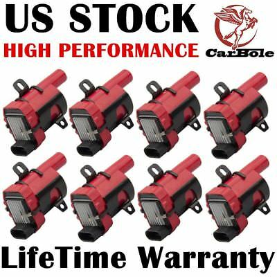 8 PCS Ignition Coils D585 For Chevy GMC Yukon 5.3L 6.0L 4.8L C1251 UF-262 IC413