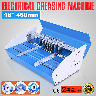 """18""""460Mm Electrical Creasing Machine Paper Coupon Creaser Electric Machine"""