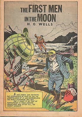 The First Men In The Moon H G Wells Comic