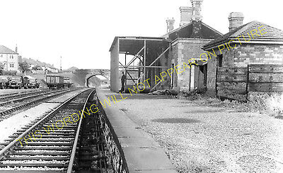 Brislington Railway Station Photo. Bristol - Pensford. Radstock Line. GWR. (5)
