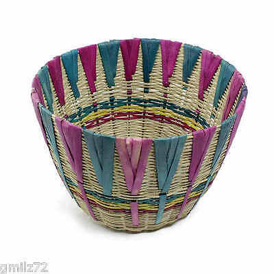 African Hand Made Woven Large Basket