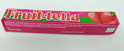 FRUITTELLA ORANGE STRAWBERRY Tutti Fruity Flavour Halal Sweets Candy