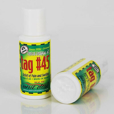 1x TAG #45 Topical Anesthetic Gel For Eyebrow Numbing Tattooing Piercing Waxing