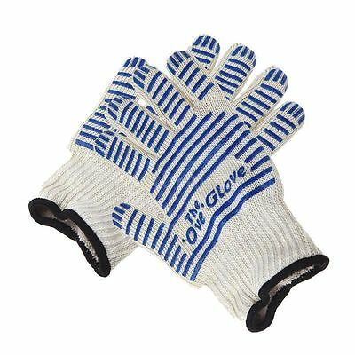 2pcs Oven Glove HeatProof Hot Resistance Surface Hand Protective Kitchen Tool DT