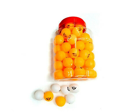 60pcs 40mm Table Tennis Olympic Ping Pong Balls Orange Indoor Games Sports Toy