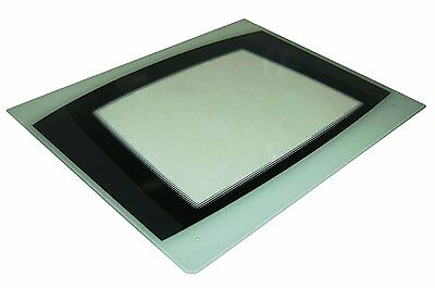 Genuine Cannon Cooker Main Oven Outer Door Glass (white) C00230085