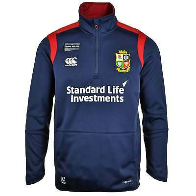 Canterbury British and Irish Lions Thermoreg Fleece 1/4 Zip Top - Navy
