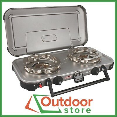 Coleman Hyperflame Fyreknight 2 burner Gas Stove - FREE to Melb, Syd, & Adel