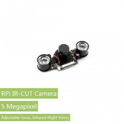 Raspberry Pi IR-CUT Night Vision Camera Module OV5647 Better Image in Day &Night