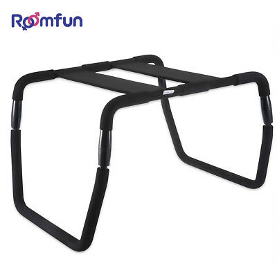 ROOMFUN Detachable Sex Chair Steel Pipe SM Product Hard Steel Pipe Stool Lover