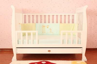 BRAND NEW 3 in 1 SLEIGH COT With Mattress for newborns, babies, toddlers