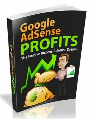 Google Adsense Profits Guide (eBook/PDF file)  with Resell Right - FREE SHIPPING