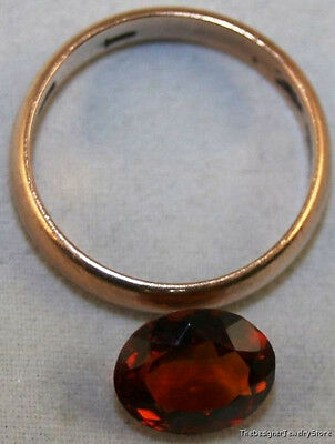 Madeira Red Natural Citrine Gem 8X10 Faceted Oval Cut 2.3Ct Gemstone Ci6E