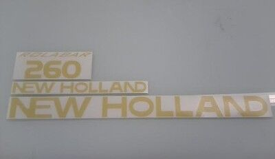 New Holland 260 Hay Rake Decals