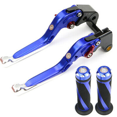 Brake Levers And Motorcycle Grips For 1998 2001 2002 GSXR600 GSX-R750 1997-2003