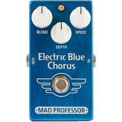 Mad Professor Electric Blue Chorus Factory Made Effektpedal NEU NEW