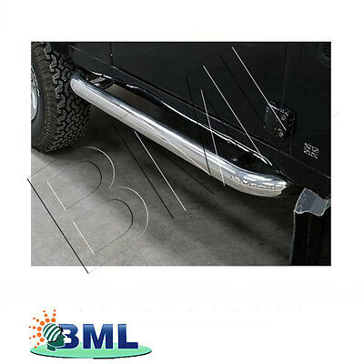 Land Rover Defender 90 Side Protector Stainless Steel. Part- Da7012Ss