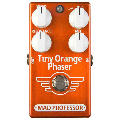 Mad Professor Tiny Orange Phaser Factory Made Effektpedal Pedal NEU NEW