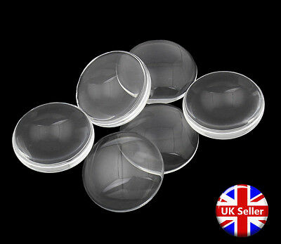20mm Circular Clear Round Glass Dome Cabochons