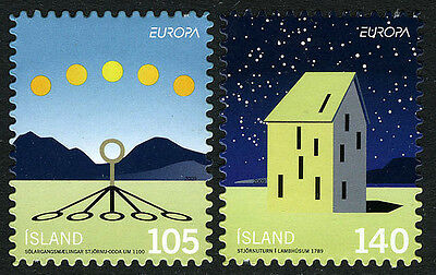 Iceland 1171-1172, MNH. Intl. Year of Astronomy. Sun, Shadows; Observatory, 2009