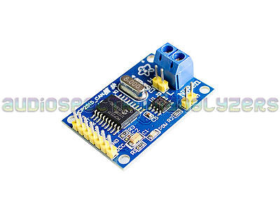 ARDUINO CAN BUS Module Car OBD2 OBDII MCP2515 8MHZ Crystal - UK Stock