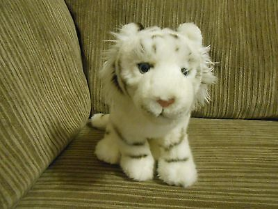 Ganz SIGNATURE WHITE BENGAL TIGER  NICE CONDITION Plush Stuffed Animal NO CODE