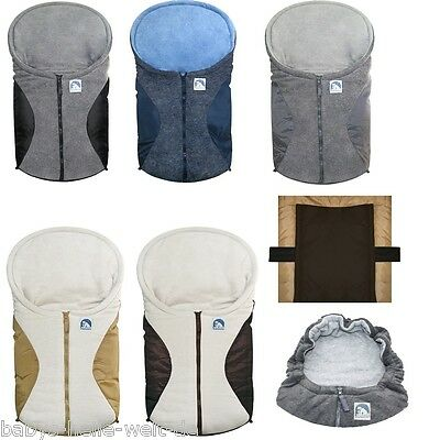 Eisbärchen Foot sack for pushchairs or Carry cot 7963 - Colour selection