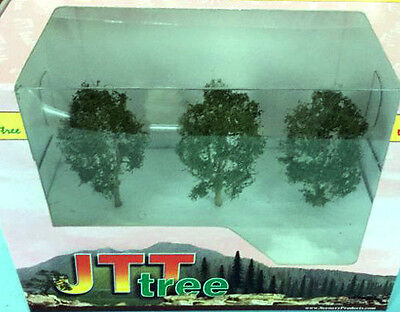 Jtt Products Tr1237 3Pk N/ho Scale 'alder Trees' Brand New & Boxed