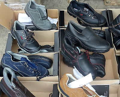 joblot of 100 safety work shoes/boots