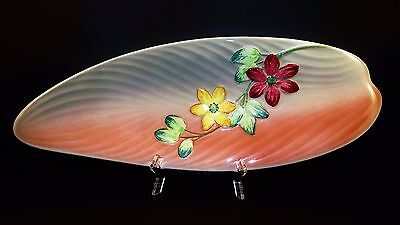 "Vintage 1930's, Shorter & Son, ""Harmony"" Staffordshire England Hand Painted Dish"