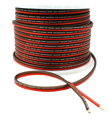 DNF Car Audio Home Speaker Wire 10 Gauge 250 Feet Audio Speaker Cable 250'