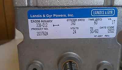 Landis & Gyr Powers Inc. 338-012 - Spring Return Electric Damper Actuator