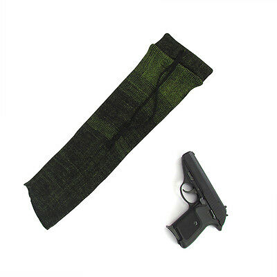 Tourbon Pistol Socks Handgun Sleeves Sack Gun Bag Carrier Slip Reel Cover Green