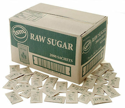 Sugar & Sweetners Raw Sugar Sachet 3g Box of 2000