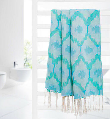 Pestemal Turkish Bath Towel Peshtemal Beach Towel Throw Blanket Fouta Gym WVS1