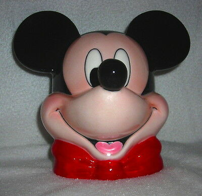 Mickey Mouse And Goofy Coin Bank Piggy Bank No Markings