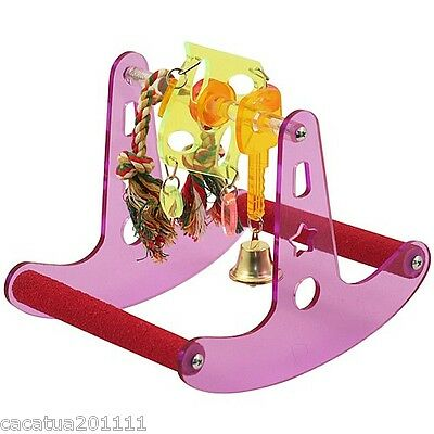 Seesaw Play Rocker Parrot Stand  For Medium Parrots - Complete Activity Toy