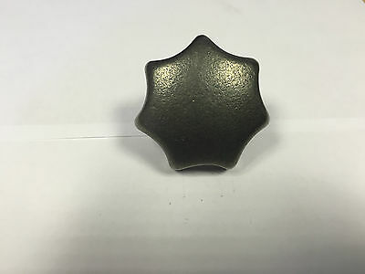 Cast Iron Handwheel - 63mm Diameter Star Knob M12 Female Thread